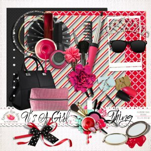 It's A Girl Thing Mini Kit