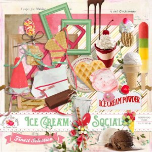 Ice Cream Social Mini Kit